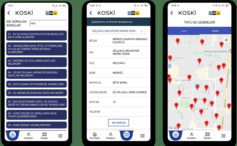 Abranero - KOSKİ Mobil Uygulaması